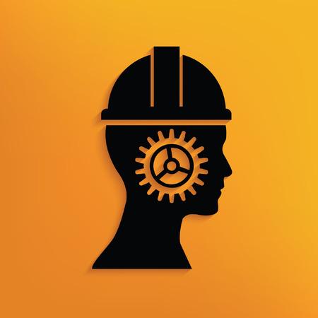 trammel: Engineer concept design,vector