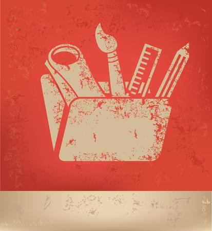 cognition: Education tool concept design,vector Illustration