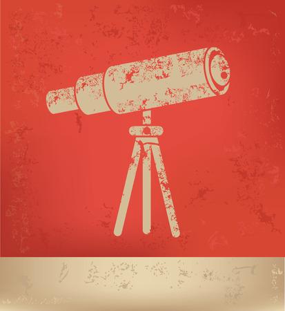 Telescope concept design,vector