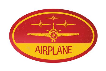 private jet: Airplane concept design,vector Illustration