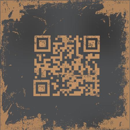 qr code: QR code concept design,vector