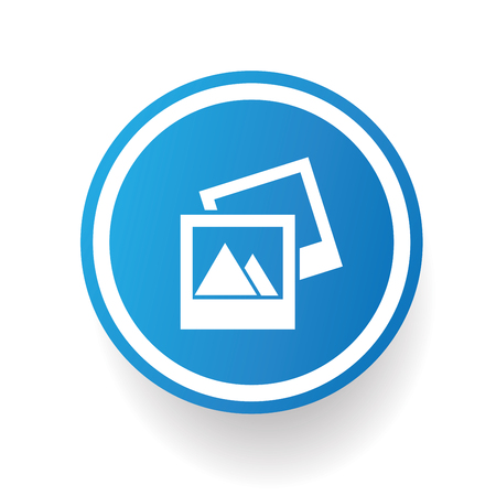 Photo icon,vector