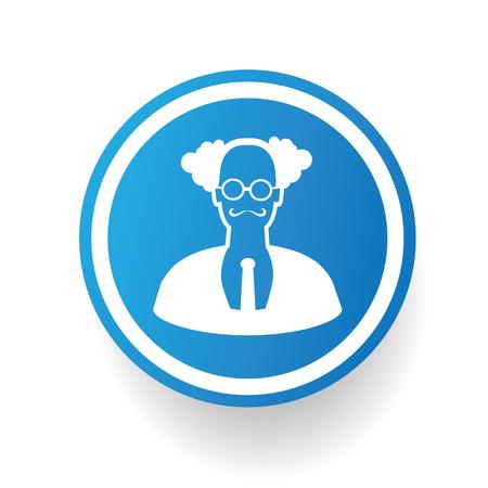 Scientist icon,vector