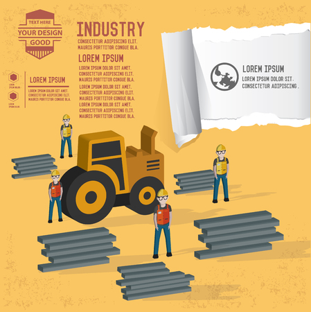 steel industry: Engineer,industry,steel icon,vector