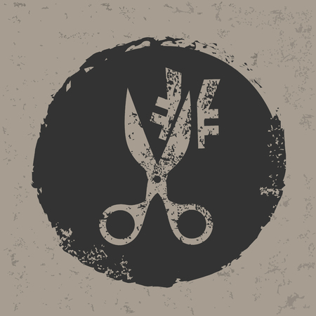 Steuersenkung Symbol, Vektor
