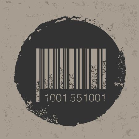 Barcode design,vector Çizim