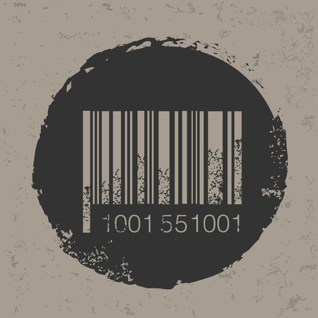 Barcode design,vector Illustration