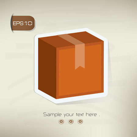 stockpile: Box design,vector