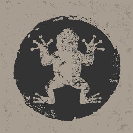 Frog design,vector