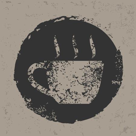 decaf: Coffee design,vector Illustration