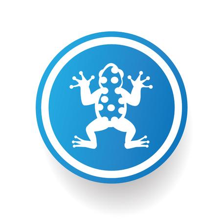 croaking: Frog design,vector