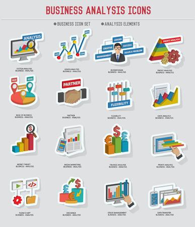 human resource: Business analysis design,vector