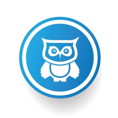 pigeon owl: Owl design,vector Illustration