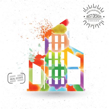 estate: Real estate design,vector Illustration