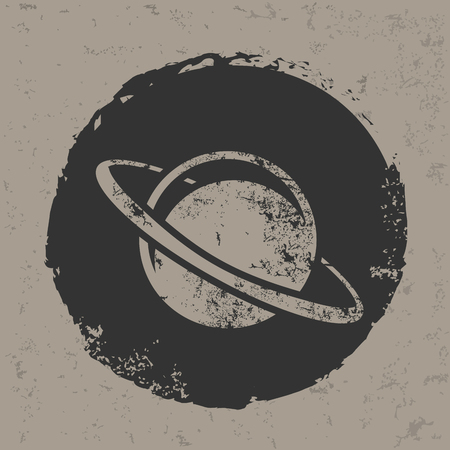 outerspace: Saturn design,vector Illustration