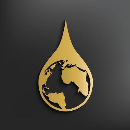Saving water concept design,vector Illustration