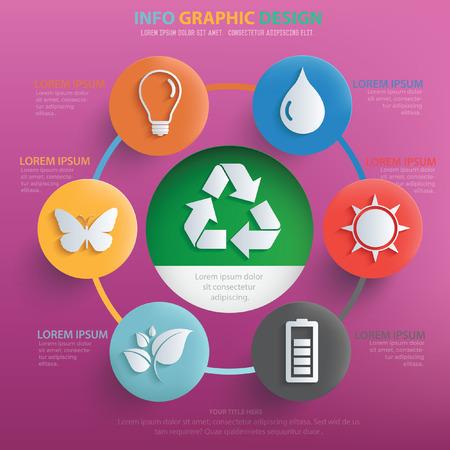 antipollution: Ecology concept design,vector