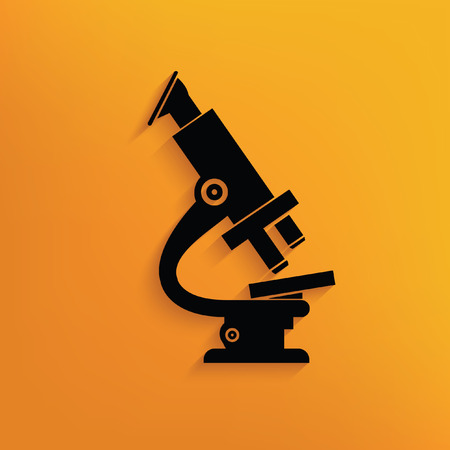 Microscope concept design,vector