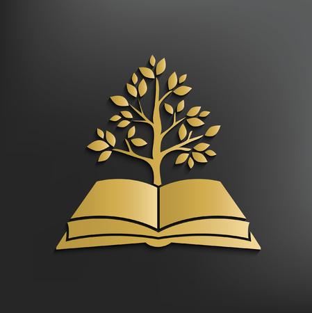Book concept design,vector