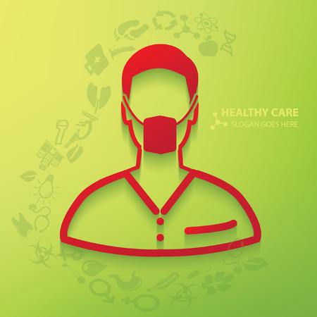 md: Medical,doctor concept design,vector Illustration