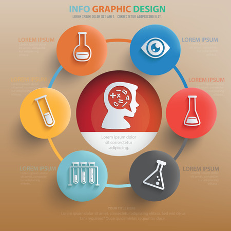lore: Education concept design,vector