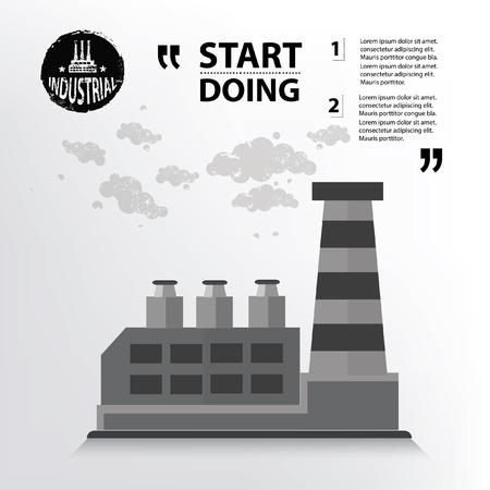 industry concept: Industry concept design,vector