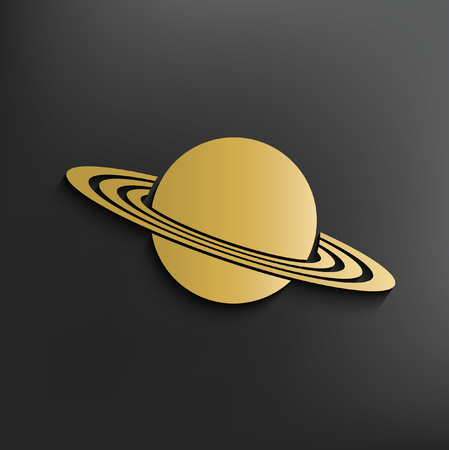 and saturn: Saturn concept design,vector