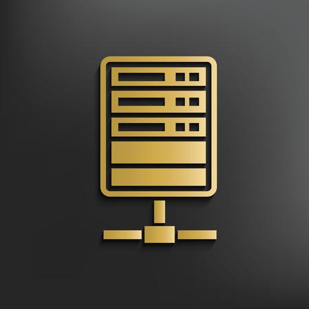 concept design de base de données, vecteur