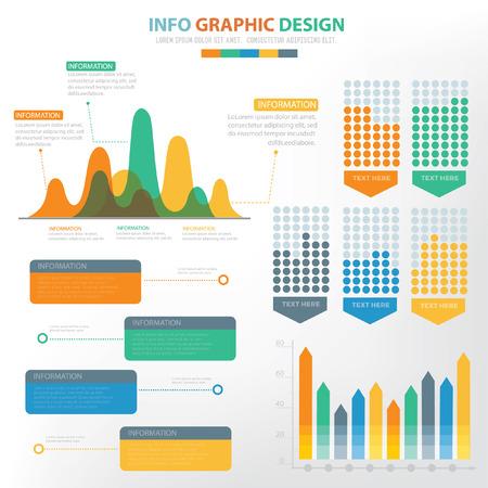 Data analysis info graphic concept design,vector Illustration