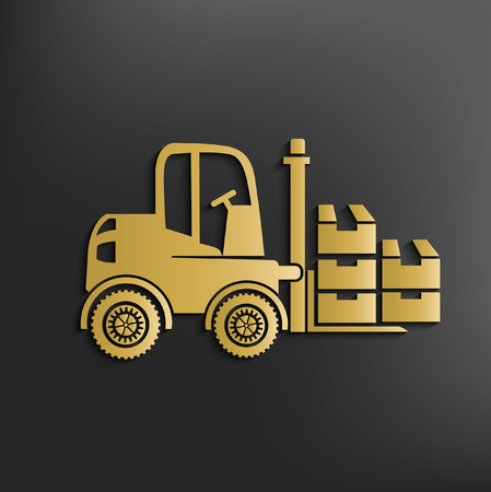 Forklift concept design,vector
