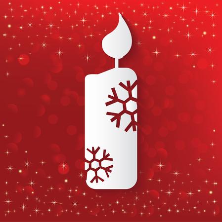 paraffin: Candle concept design,vector