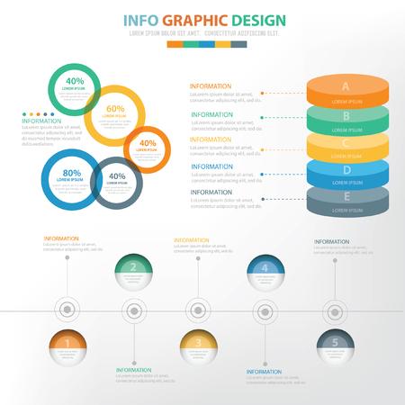 demografia: Info graphic concept design,vector