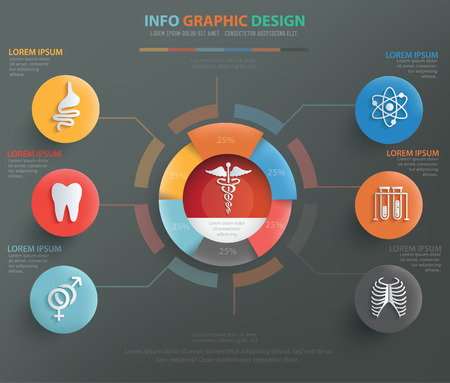 hospital patient: Medical concept design,vector