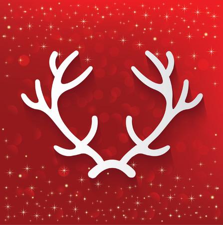 Xmas,deer concept design,vector Illustration
