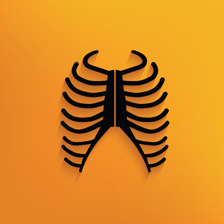 rib: Rib design,vector