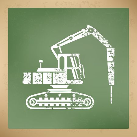 graders: Construction car concept design,vector Illustration