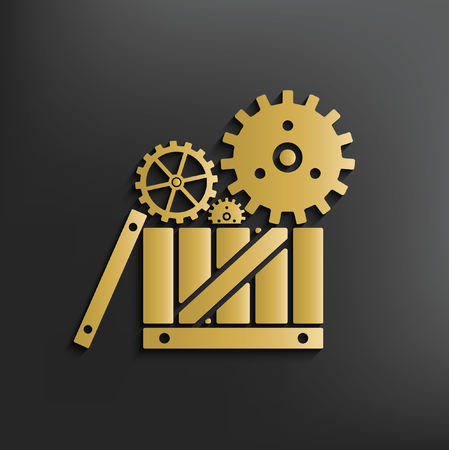 Gear concept design,vector