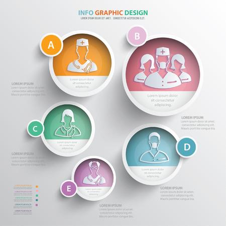 labcoat: Doctor design,vector Illustration
