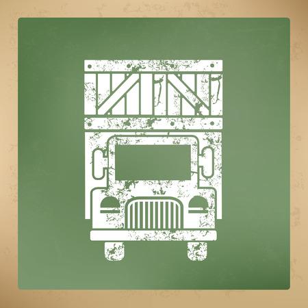 driving range: Truck design,vector