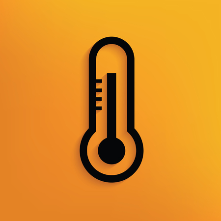 Thermometer design,vector
