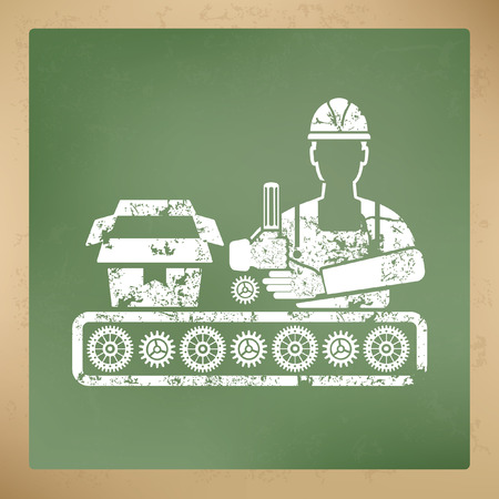 calliper: Engineer design,vector Illustration