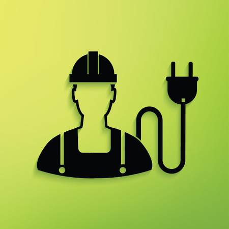 geodesy: Engineer,plug concept design Illustration