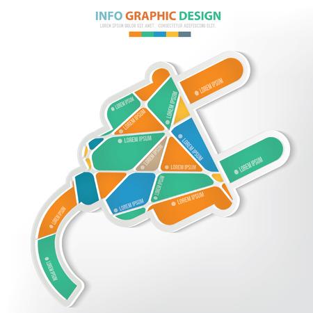 Plug concept design Illustration