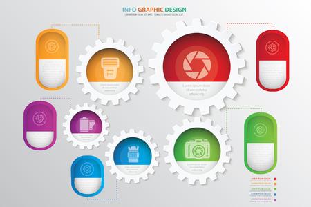 Photography concept design,clean vector
