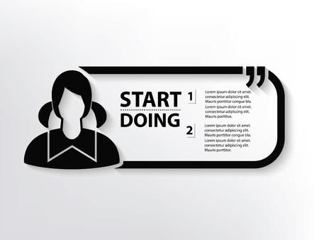 graduate asian: Student concept design,clean vector