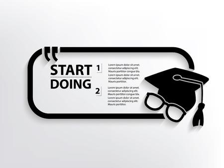 education concept: Education concept design,vector