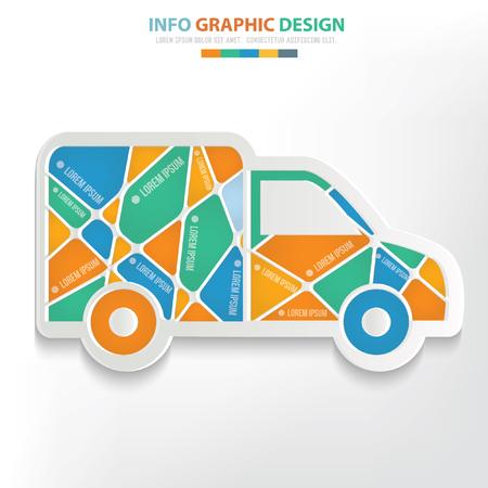 Truck concept design,vector