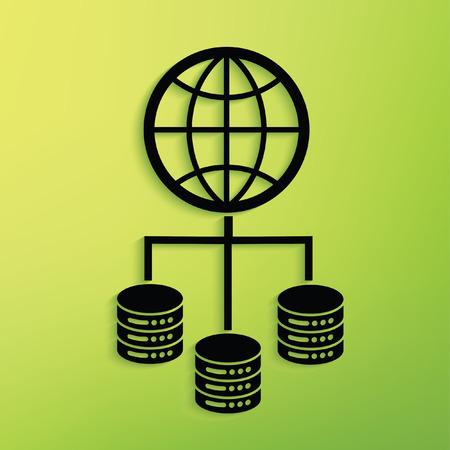 Network concept design,vector