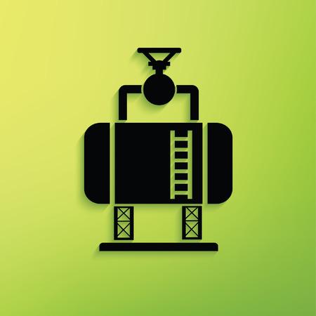 Tank,Industry concept design,clean vector
