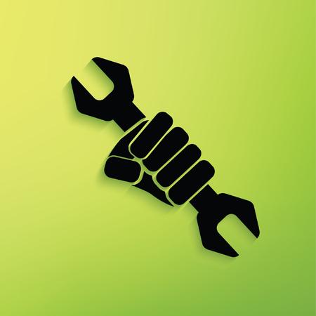 Repair concept design,clean vector Illustration